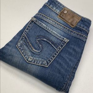 Womens Silver Aiko Jeans 27x31 @vintage